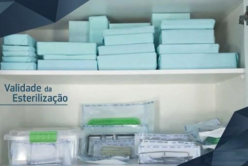 validade dos artigos esterilizados
