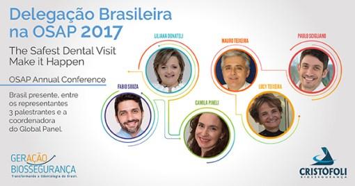 OSAPAC2017 - Brasil leva Biossegurança em Odontologia