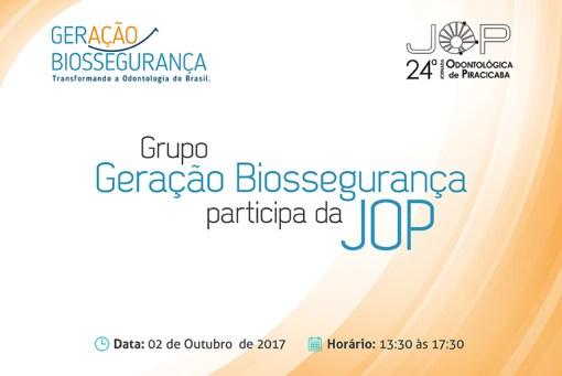 Grupo Geração Biossegurança na JOP 2017