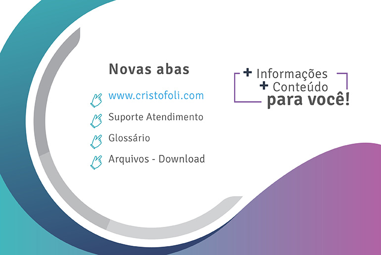 Site Cristófoli Glossário e Download