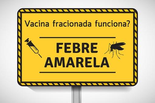 vacina fracionada febre amarela