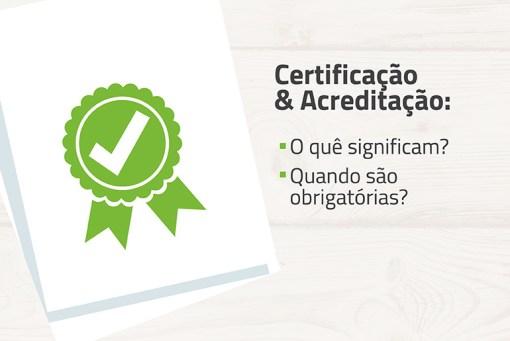certificação e acreditação