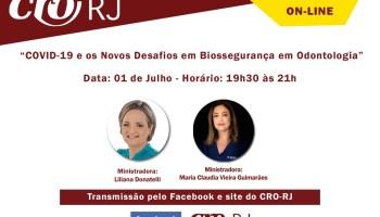"""CRO-RJ Convida: """"COVID-19"""