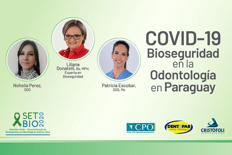 COVID-19 Bioseguridad en la Odontologia en Paraguay - live em espanhol