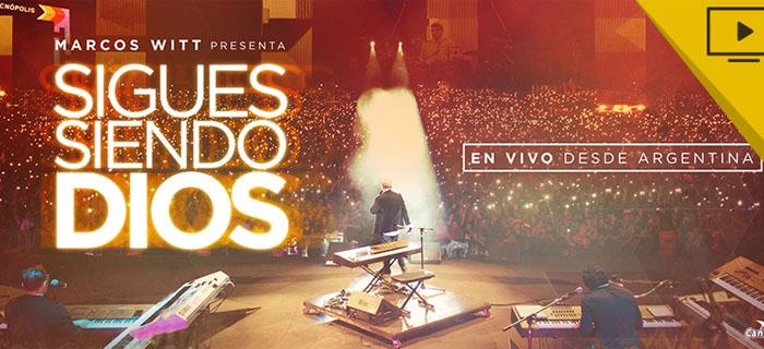 """Marcos Witt Estrena Su Disco """"Sigues Siendo Dios"""" (En Vivo)"""