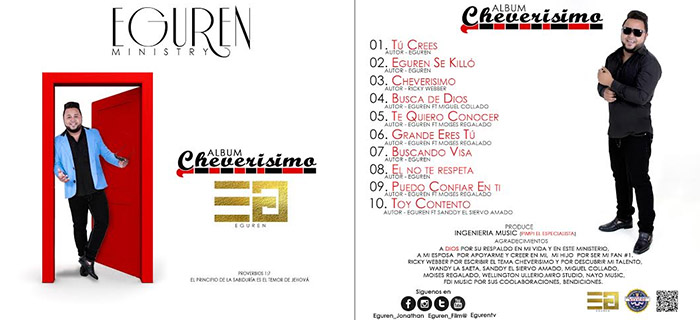 ESTRENO MUNDIAL: Eguren – Cheverisimo (The Album)