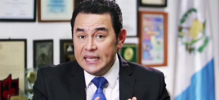 El comediante cristiano Jimmy Morales es nuevo presidente de Guatemala