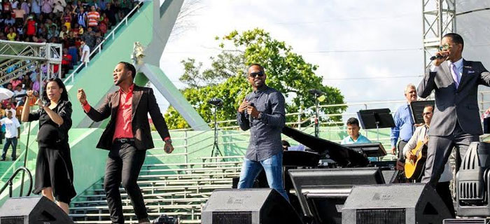 Por primera vez Música Urbana estuvo en la Batalla de la Fe 2016