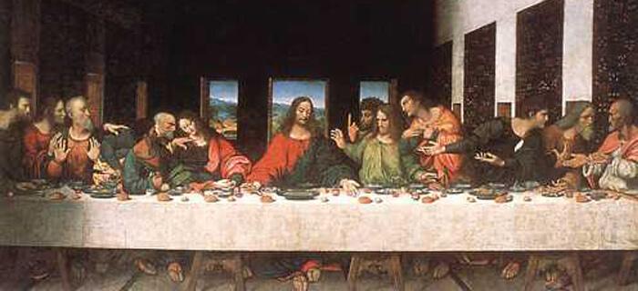Arqueólogos evidencian lo que se sirvió en la Última Cena