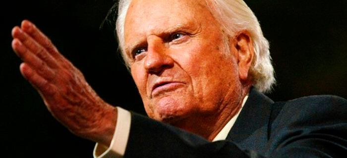 Billy Graham: Nunca es tarde para volver al camino del señor