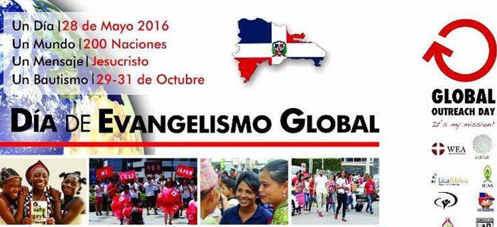 28 de Mayo – Día del Evangelismo Global ¡Únete!