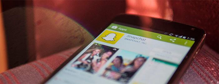 Usando Snapchat