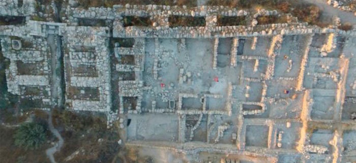 Un equipo de arqueólogos descubierto un palacio de la época de Salomón