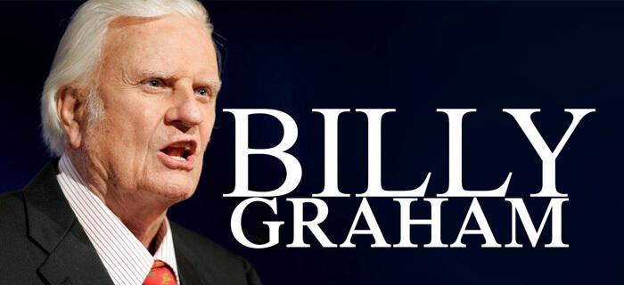 Billy Graham celebra su cumpleaños 98