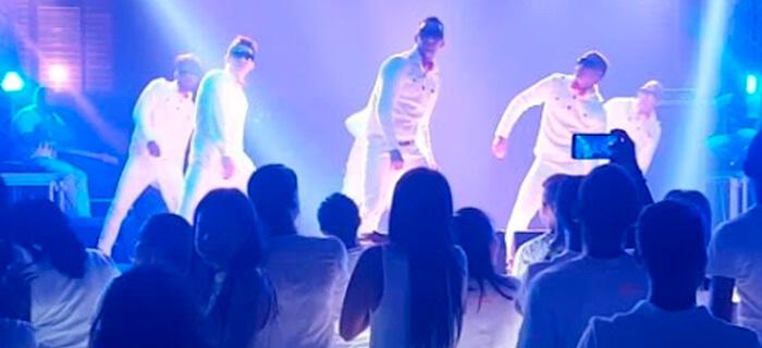 Presentación de Luz en las Tinieblas LENT en la Noche Blanca