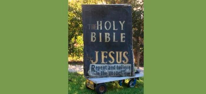 Biblia Gigante se hace famosa en EE.UU.