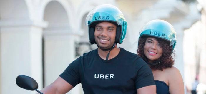 uberMOTO llegó a Santo Domingo