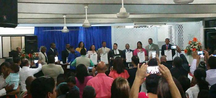 Pastor Osvaldo Torres es reelecto presidente de La Federacion de Pastores del Cibao (FEPERCI)