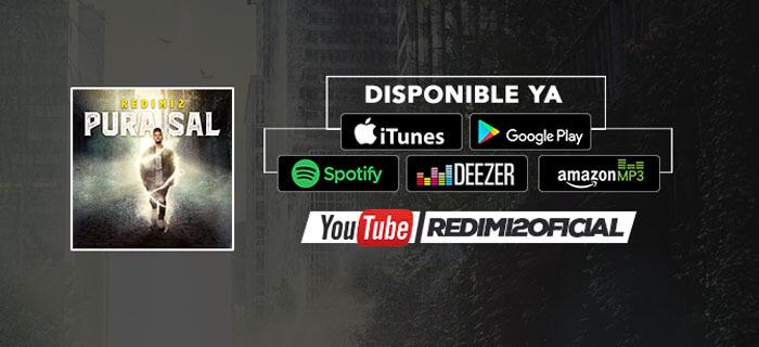 """Redimi2 lanza su nuevo disco """"Pura Sal"""""""