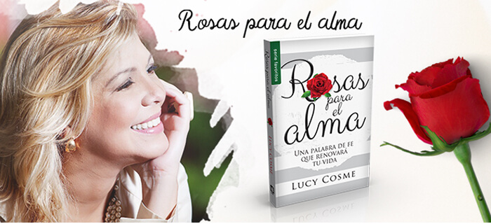 """Lucy Cosme presenta la nueva edición de su libro  """"Rosas Para el Alma"""""""