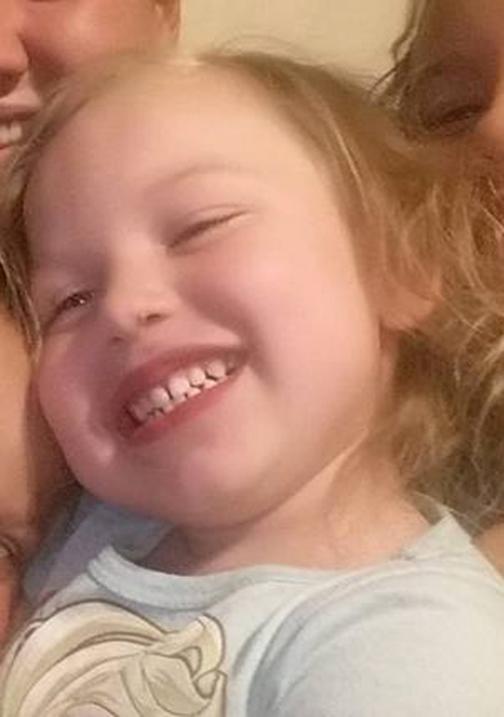 Brooke Bryanne Ward, de 5 años.