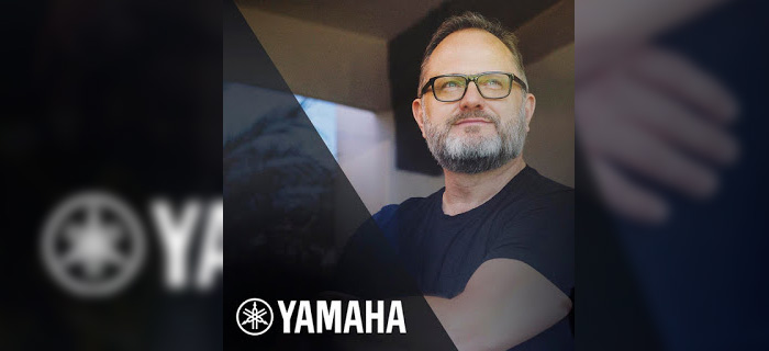 Marcos Witt firma contrato con la marca Yamaha