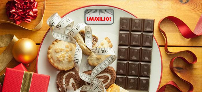 Cómo evitar subir de peso en Navidad