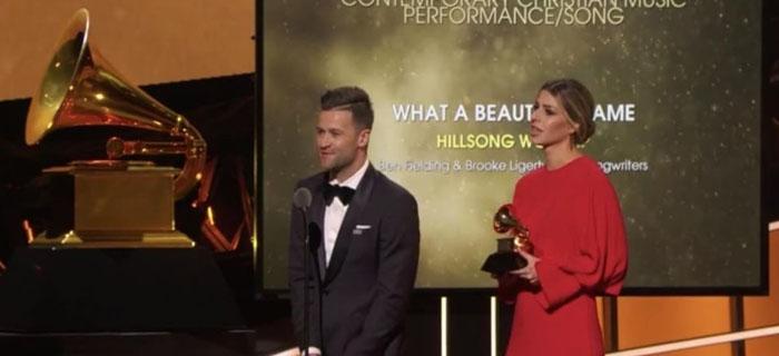 Hillsong Worship Gana Su Primer Grammy