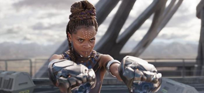 Actriz Letitia Wright de 'Pantera Negra' se vuelve a Dios