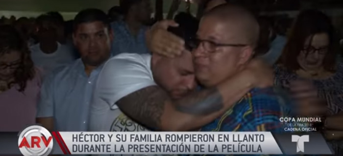"""Hector Delgado """"Estamos orando por tempo para que tome la misma decisión que yo tome"""""""