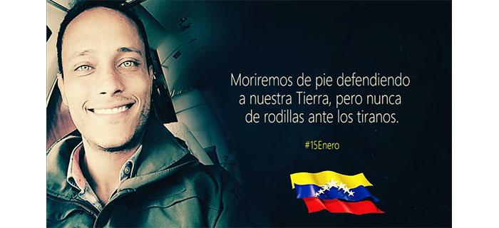 """Ariel Kelly presenta """"Óscar Pérez el Héroe"""" (La canción de Venezuela)"""