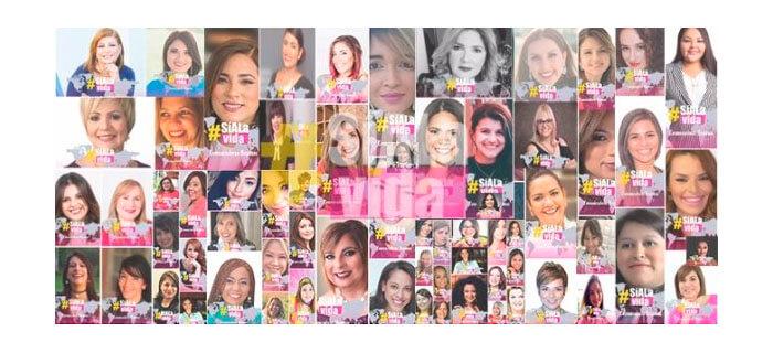 """Más de 100 mujeres Comunicadoras Hispanas le están diciendo  """"Sí a la vida"""" en toda Iberoamérica"""