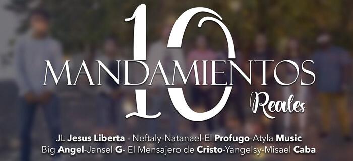 10 Mandamientos Reales – Big Ángel ❌ JL Jesús Liberta ❌ El Prófugo ❌ Varios Artistas (Vídeo Oficial)