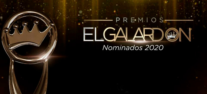 Lista de nominados Premios El Galardón 2020 Rep. Dom.