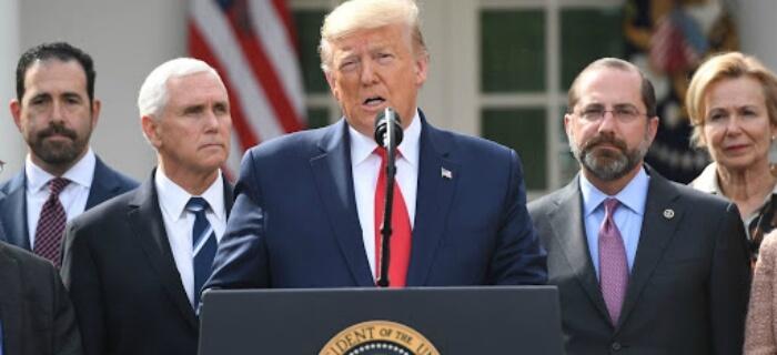 Donald Trump declara el 15 de marzo como Día Nacional de oración