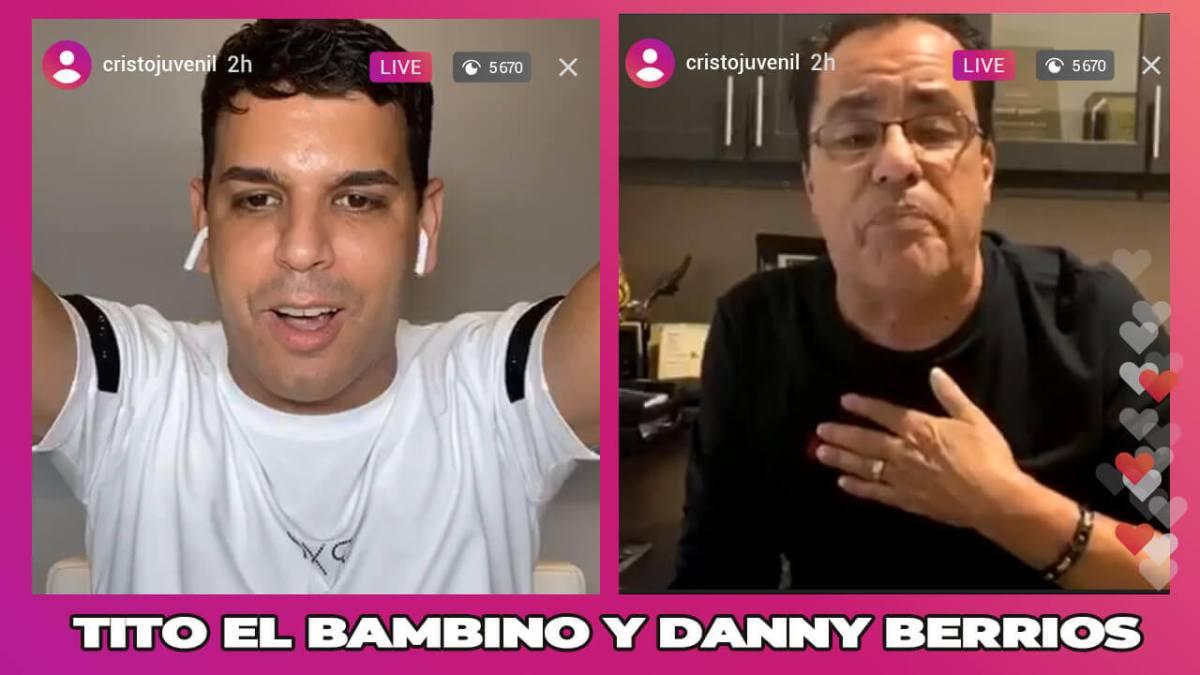 """DANNY BERRIOS cuenta la HISTORIA del """"EL REY TE MANDO A LLAMAR"""" junto a TITO EL BAMBINO"""