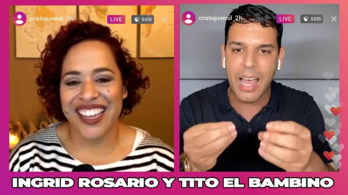 INGRID ROSARIO CANTA todos sus ÉXITOS junto a TITO EL BAMBINO