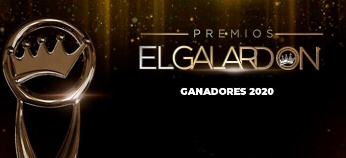 Lista de ganadores de Premios El Galardón 2020
