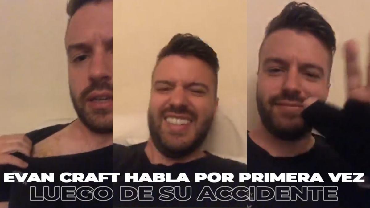 EVAN CRAFT HABLA POR PRIMERA VEZ luego de su ACCIDENTE