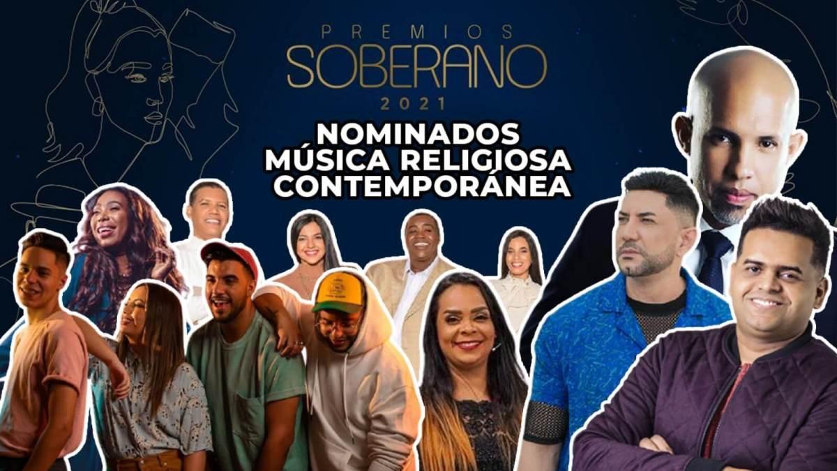 Nominados a MUSICA RELIGIOSA en PREMIOS SOBERANO 2021