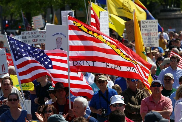 Image result for tea party rally