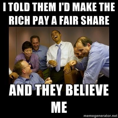 Hasil gambar untuk obama make the rich pay