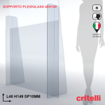 supporto barriera parafiato divisorio SP48H149