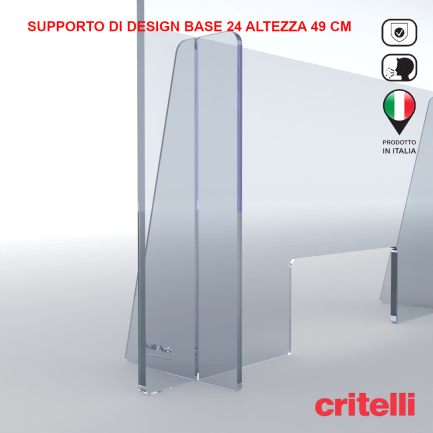 Barriera parafiato supporto b24 h49