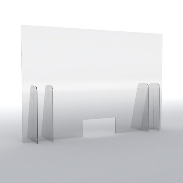 Barriere parafiato trasparenti H100 cm