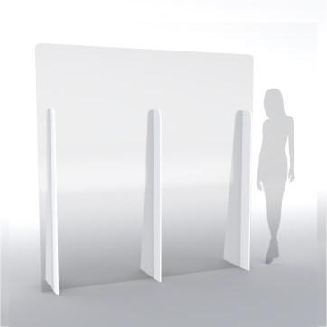 Divisori parafiato schermi di protezione XL altezza 200 cm