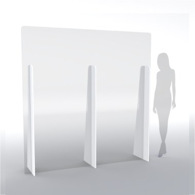 Barriere parafiato di protezione XL altezza 200 cm