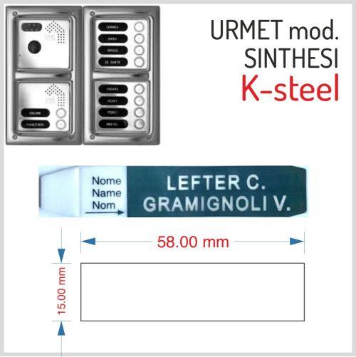 URMET MODELLO K-STEEL