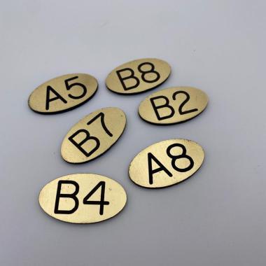 Targhette Numerazione Alloggi/Box