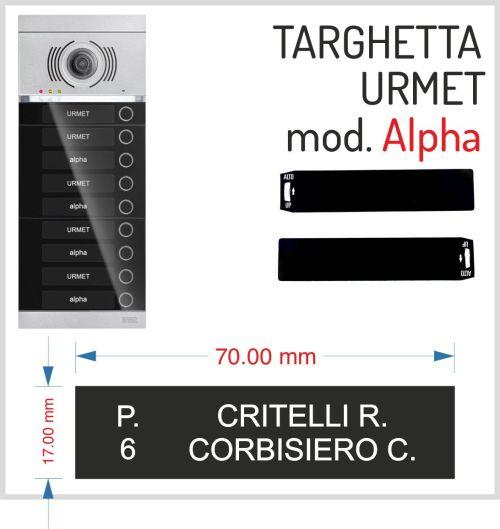 alpha catalogo urmet